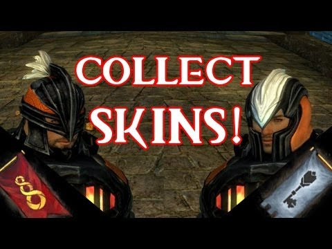 Guild Wars 2 | Collecting Faction Skins Trick! - Dontain