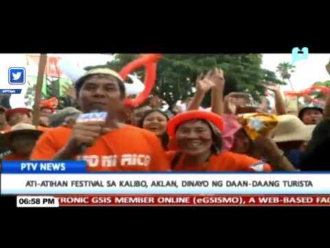 FEATURE: Ati-Atihan Festival sa Kalibo, Aklan, dinayo ng daan-daang turista