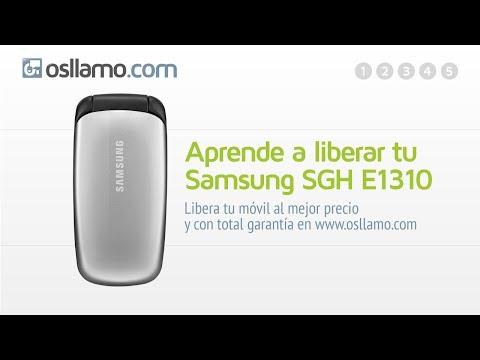 Liberar tu Samsung SGH E1310