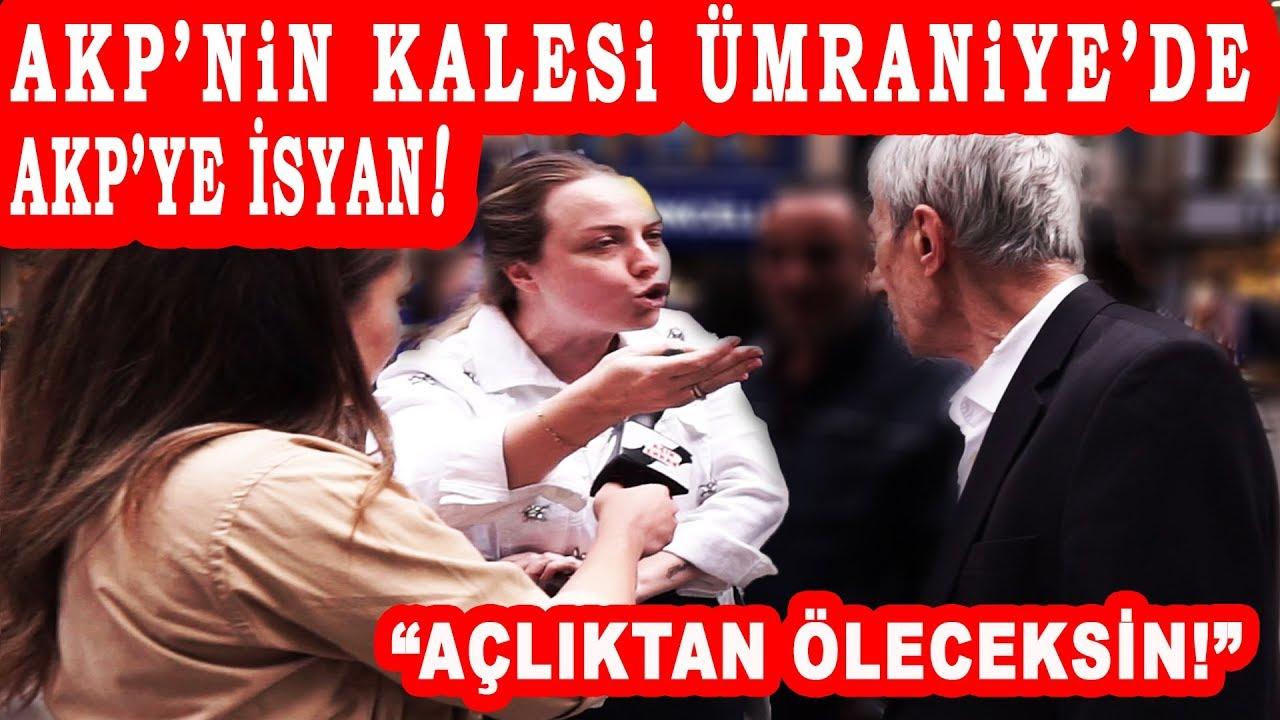 AKP'NİN KALESİ ÜMRANİYE'DE AKP'YE İSYAN! AKPliler Yeni Seçimde Oy Değiştirecek Mi? BÖ