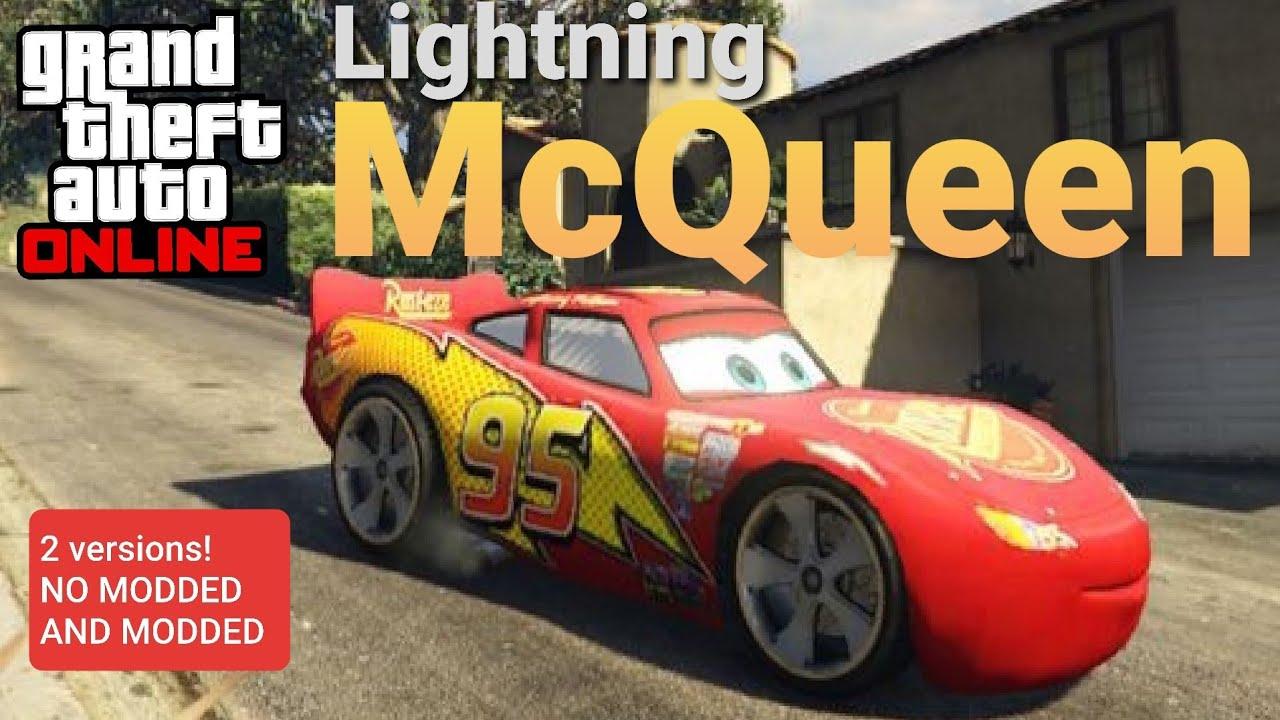 😲 secret lightning mcqueen in gta online no mods ps4