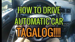 PAANO MAGDRIVE NG AUTOMATIC CAR | GRAB |