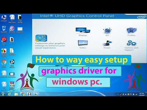 Latest INTEL HD GRAPHICS DRIVER /  How To Update Intel Graphics Driver In Windows 10,7,8