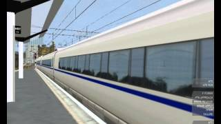 [Openbve] CRH 3 high speed train from Newcastle to Berwick