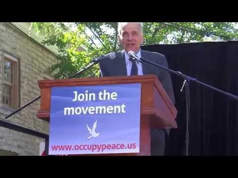 "OCCUPY PEACE! RALPH NADAR ""WE HAVE AN INSTITUTIONALLY INSANE GOV"""