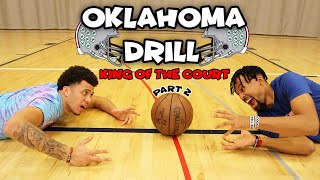 I Was Cooking During These 1v1's | Oklahoma Drill King Of The Court *PART 2*