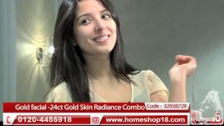 Skin Reviving Facial Kit - Gold facial -24ct Gold Skin Radiance Combo