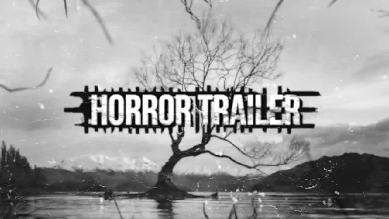 Horror Trailer Premiere Pro Templates