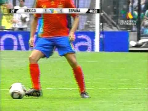 mexico vs españa 2010 gol de david silva Videos De Viajes