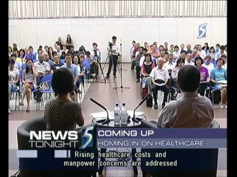 Singapore Channel 5 9.30PM News @ 18-03-2012