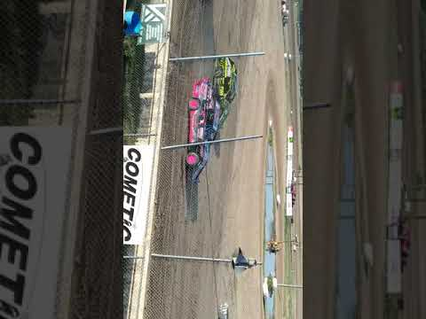 Aj Ward Racing 7/4/18@I-96 Speedway)Heat race