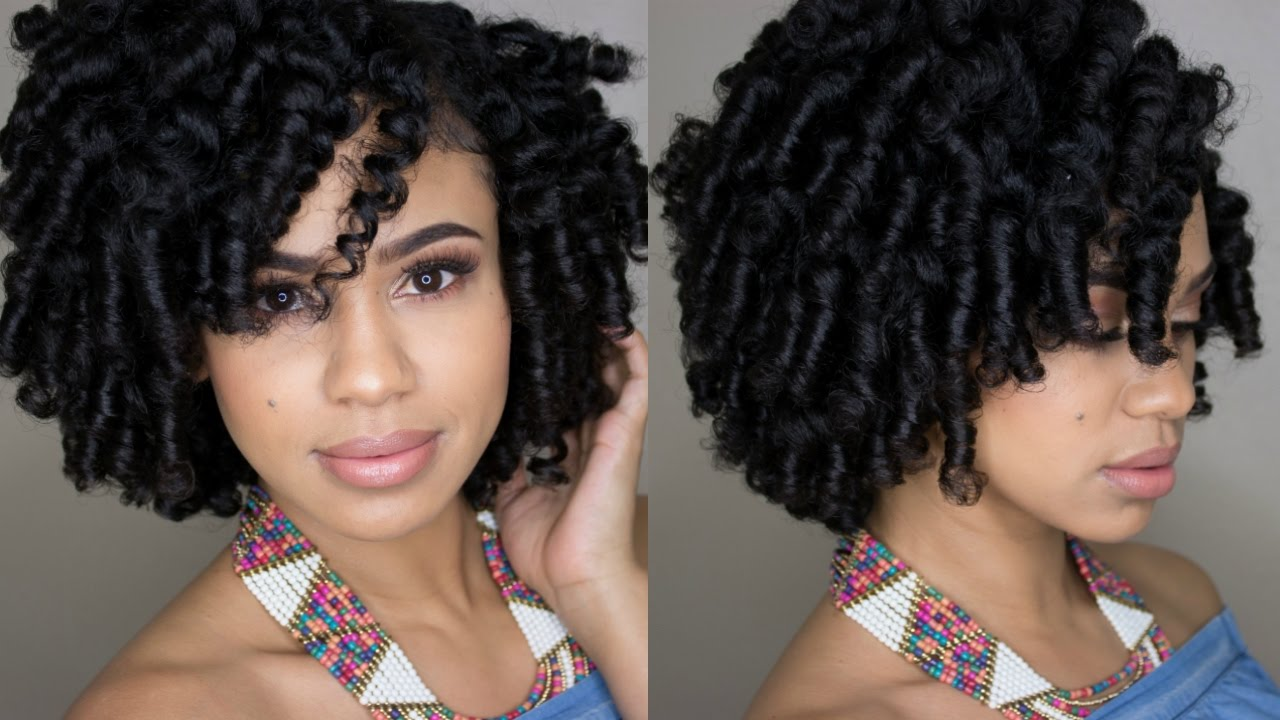 How To Perm Rod Your Natural Hair