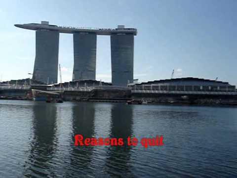 Reasons To Quit - Merle Haggard Karaoke byCharlie Marina Bay Integrated Resorts!