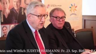 Eifel Literatur Festival 2016: 20 namhafte Autoren haben zugesagt