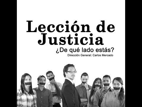 LECCION DE JUSTICIA