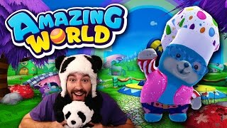 Fart Cloud Queen & Spin The Wheel! (Amazing World #1)