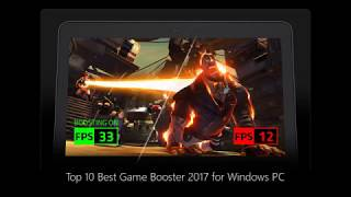 Top 10 Best Free Game Booster 2017 for Windows 10/8/8.1/7 PC