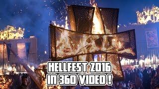 360° Video - Hellfest 2016