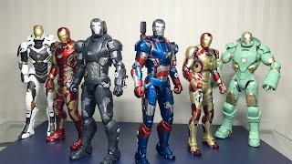 DIECAST Iron Patriot from Iron Man 3 by King Arts 1/9 scale
