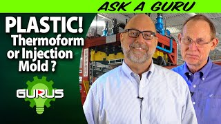 Thermoforming or Injection Molding?  C&K Plastics tells you