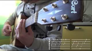 Простые мелодии на гитаре- Цыганочка (+табы)