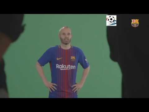 Fc Barcelona nueva camiseta 2017 Rakuten