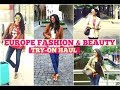 Massive Europe Try-On Haul || Fashion and Make-Up || Clothes and Creativity