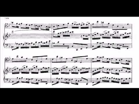 Bach: Gamba sonata Bwv 1029 - 1st movement - 19 tet