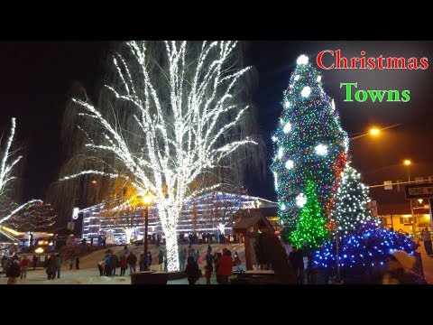 Top 10 Best Christmas Towns In The United States. Leavenworth Is On The List.