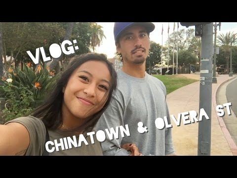 Vlog: Chinatown, Olvera st!!! Food and Chachkis ??