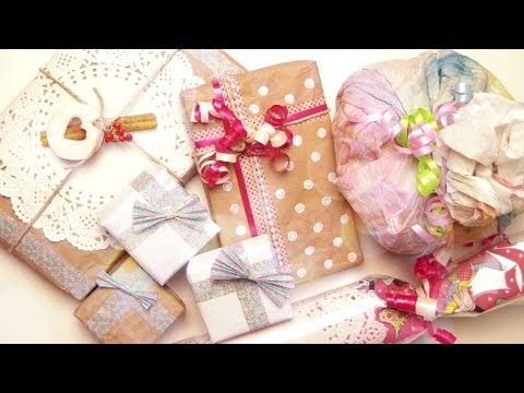DIY Cute Gift Wrapping Ideas
