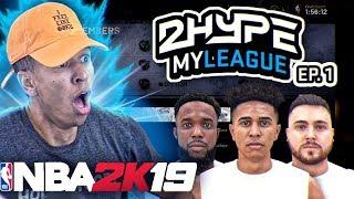 2HYPE JOINS THE NBA! 2HYPE REBUILD SERIES! #1 NBA 2K19