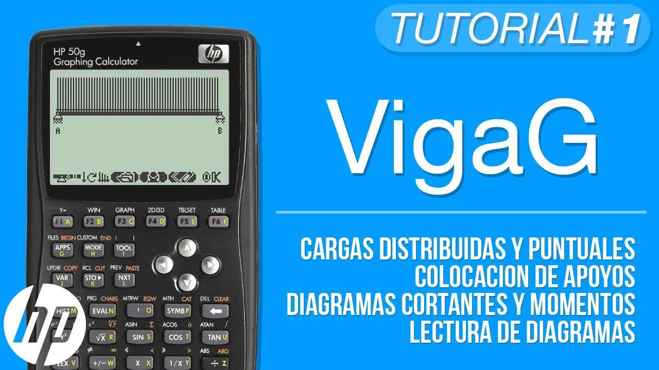 VigaG (Analisis Estructural de Vigas) - Tutorial HP 50g