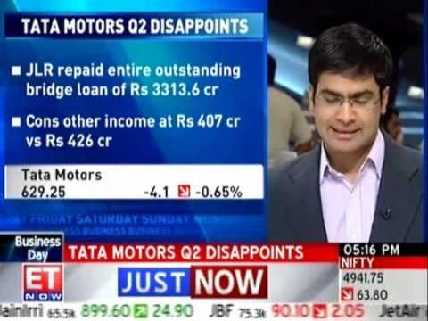 Tata Motors posts profit; JLR volumes rise