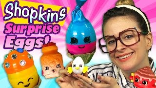 Shopkins Surprise Eggs Craft - June Balloon, Mushy Moo, Egg Chic | Arts & Crafts With Crafty Carol