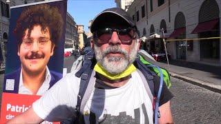 Da Brescia a Roma a piedi per Patrick Zaky: