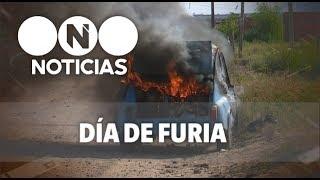 """VIDEO: Se enojó porque el """"fitito"""" no le arrancaba y lo prendió fuego"""