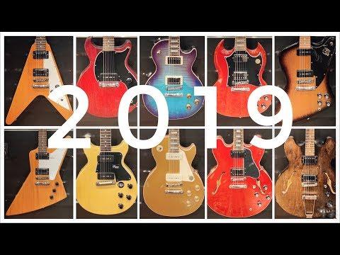 Gibson Model Year 2019 - LP Vs SG Vs Flying V Vs ES335 Vs ES330 Vs Classic Vs Explorer Vs Firebird