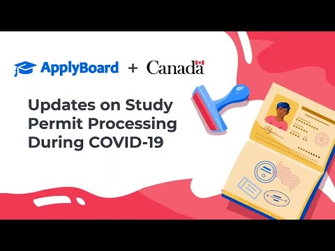 Updates On Study Permit Processing During COVID-19