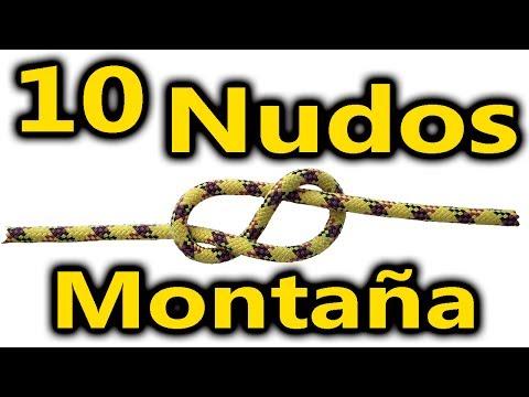 10 nudos básicos para montaña