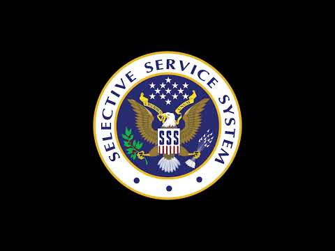 Registration With Selective Service Is A Federal Law