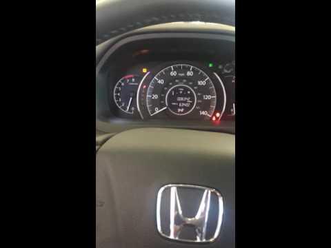 2016 Honda CR-V oil reset light