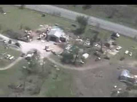 Tour of Newton County tornado damage
