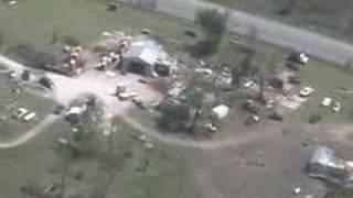 Tour of Newton County tornado damage