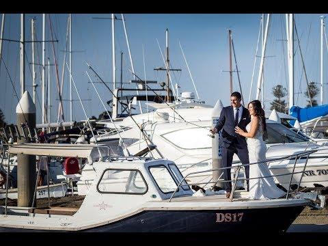 Bashir And Alexandra Hook, Line And Sinker At Sandringham Yacht Club