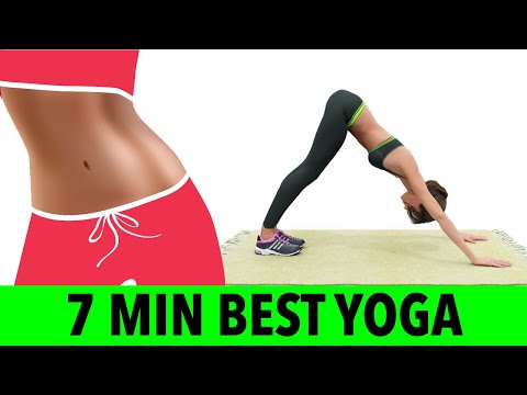 7 Min Best Yoga Workout To Lose Weight At Home