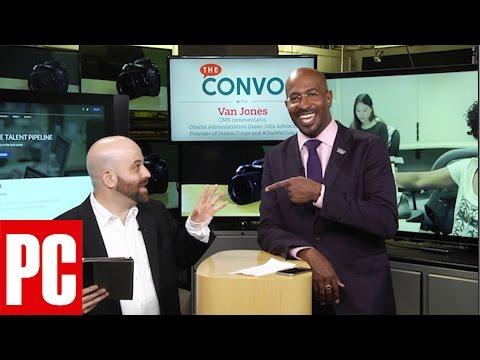 activist, pundit VAN JONES talks about making Silicon Valley more diverse