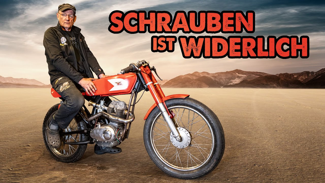 Schweiß die Wand an! | Moto Morini Corsaro 125ccm | Andi Feldmann