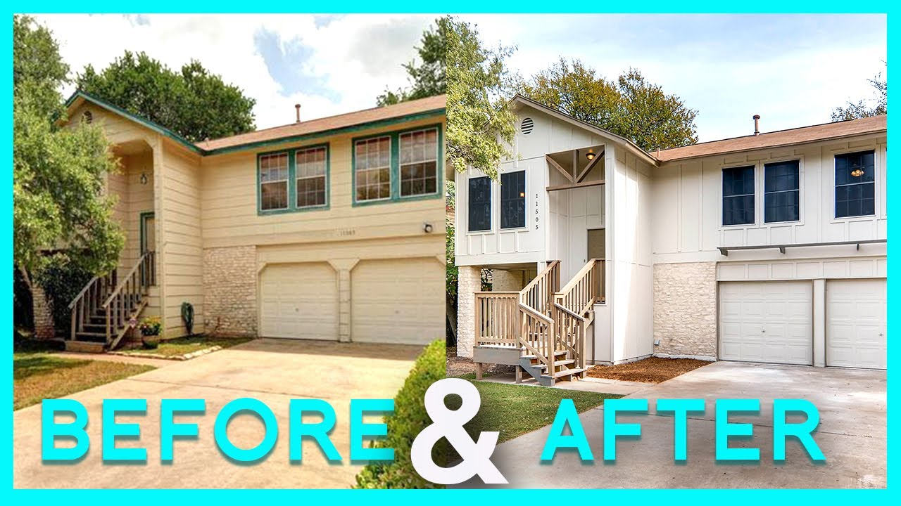 House Flip Before And After How We Turned A Split Level