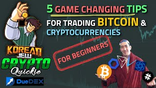 5 TIPS FOR TRADING BITCOIN AND CRYPTOCURRENCY FOR BEGINNERS 🤑🤑🤑